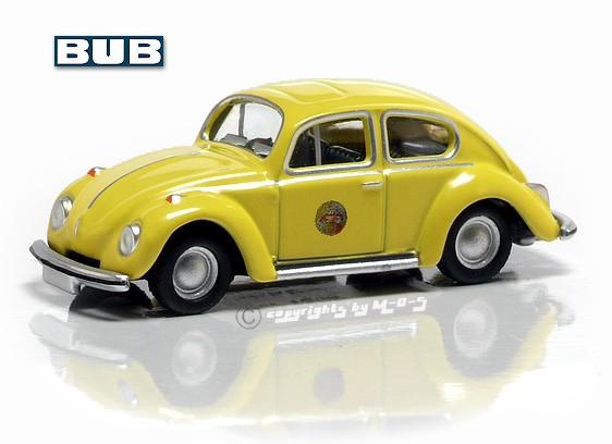VW Käfer 1302, gelb