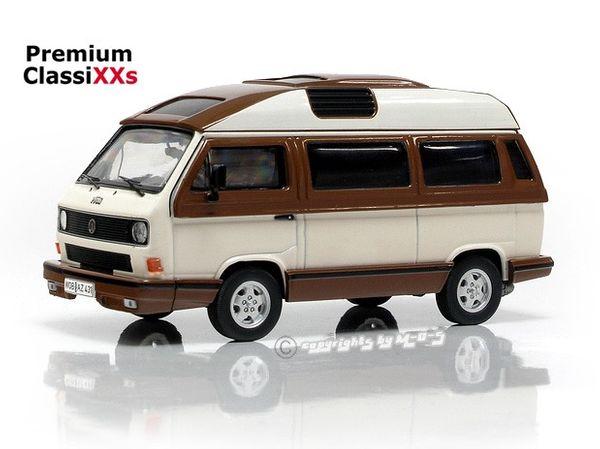 VW Volkswagen T3b Dehler Profi, weiß braun 1:43 Premium ClassiXXs 13078 – Bild 1