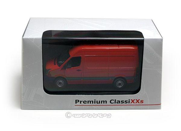 VW Crafter Kasten (Facelift), rot  – Bild 3