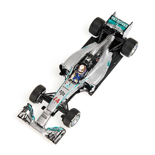 Mercedes AMG W05 Minichamps 410140344 1:43 Petronas F1 Team No. #44 Lewis Hamilton Winner China GP 2014 L.E. 680 pcs. Die Cast Model – Bild 2