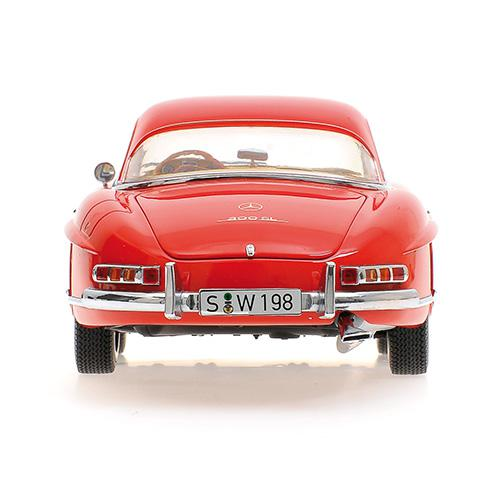 Mercedes 300 SL Roadster (W198) 1957 red Hardtop L.E. 600 pcs. 1:18 – image 2