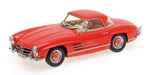 Mercedes 300 SL Roadster (W198) 1957 red Hardtop L.E. 600 pcs. 1:18 001