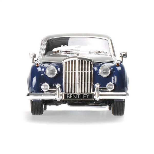 Bentley S2 1960 silver/blue 1:18 Minichamps 100139954  – image 2