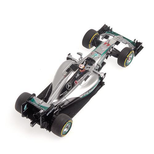 Mercedes AMG W07 #44 Minichamps 417160744 1:43 Hybrid Petronas F1 Team Lewis Hamilton - Winner Abu Dhabi GP 2016 L.E. 500 pcs. – image 2