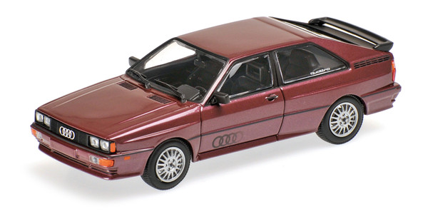 AUDI QUATTRO - 1980 - BROWN METALLIC L.E. 288 pcs.