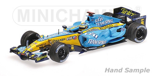 RENAULT F1 R26 - FERNANDO ALONSO - WINNER JAPANESE GP 2006