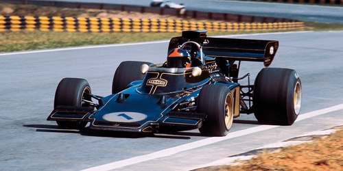 LOTUS 72D FORD - EMERSON FITTIPALDI - WINNER OF FIRST INTERLAGOS GP 1973