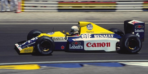WILLIAMS RENAULT FW13B - RICARDO PATRESE - 1990