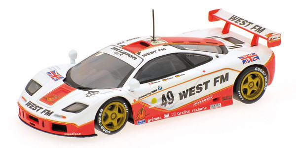 MCLAREN F1 GTR - WEST COMPETITION - NIELSEN/MASS/BSCHER - 24H LE MANS 1995