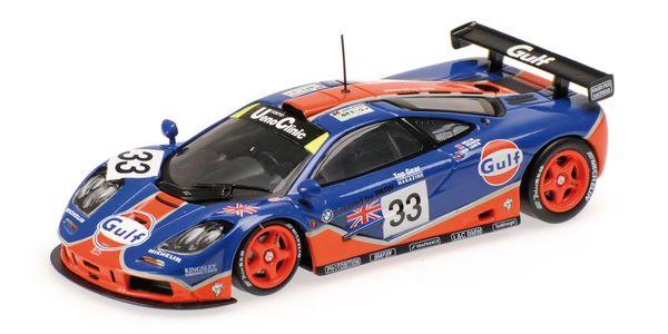 MCLAREN F1 GTR - GULF RACING - BELLM/WEAVER/LEHTO - 24H LE MANS 1996 – Bild 1