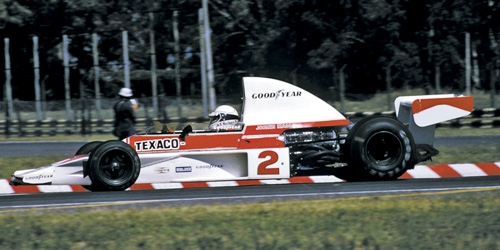 MCLAREN FORD M23 - JOCHEN MASS - 1975 - WITH ENGINE