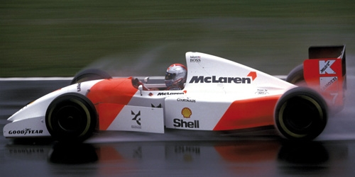 MCLAREN FORD MP4/8 - MICHAEL ANDRETTI - EUROPEAN GP 1993