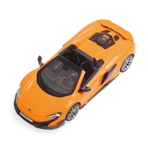 McLaren 675 LT Spider 1:43 Minichamps 537154431 orange – image 3