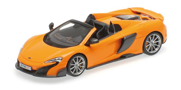 McLaren 675 LT Spider 1:43 Minichamps 537154431 orange – Bild 1