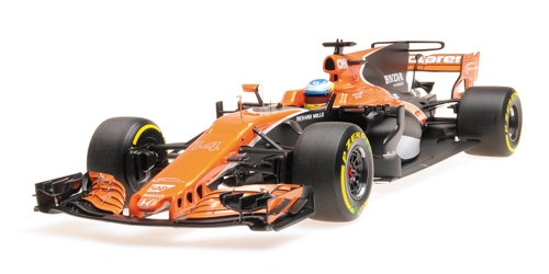 MCLAREN HONDA MCL32 - FERNANDO ALONSO - CHINA - GP 2017 – Bild 3