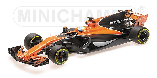 MCLAREN HONDA MCL32 - FERNANDO ALONSO - CHINA - GP 2017 – Bild 2