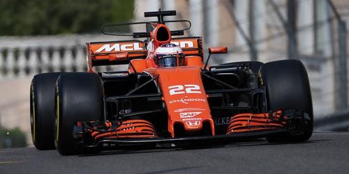 MCLAREN HONDA MCL32 - JENSON BUTTON - MONACO GP 2017