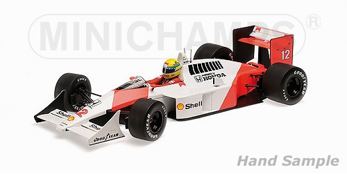MCLAREN HONDA MP4/4 - AYRTON SENNA - WORLD CHAMPION 1988