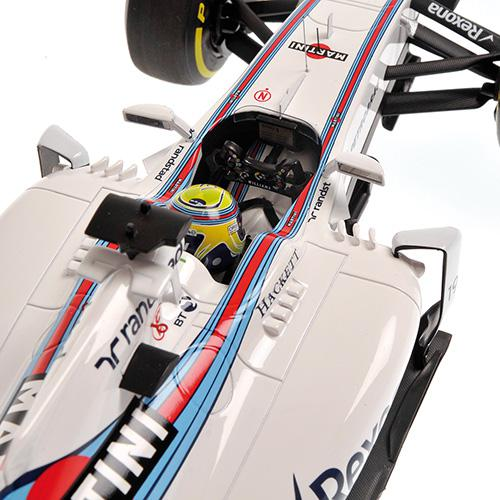 Williams Martini FW38 #19 Felipe Massa 2016 1:18 Minichamps 117160019 Mercedes Racing – Bild 2