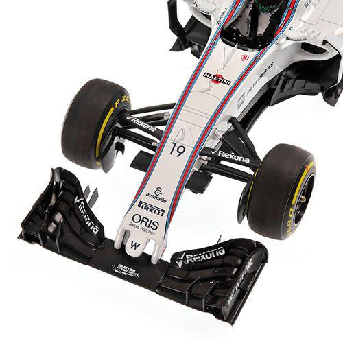 Williams Martini FW38 #19 Felipe Massa 2016 1:18 Minichamps 117160019 Mercedes Racing – image 3