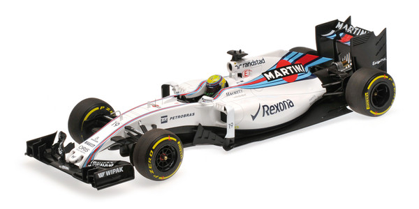 Williams Martini FW38 #19 Felipe Massa 2016 1:18 Minichamps 117160019 Mercedes Racing