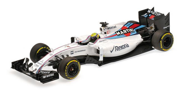 Williams Martini FW38 #19 Felipe Massa 2016 1:18 Minichamps 117160019 Mercedes Racing – image 1