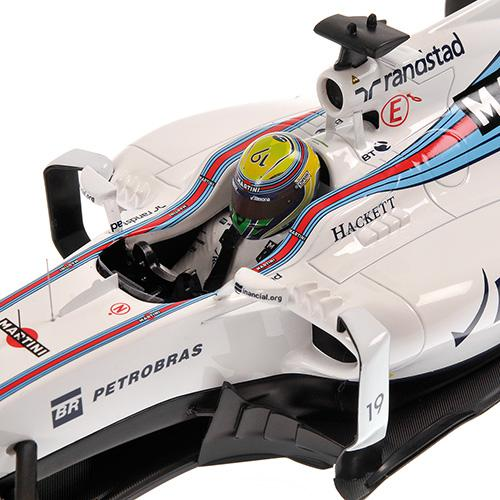 Williams Martini FW38 #19 Felipe Massa 2016 1:18 Minichamps 117160019 Mercedes Racing – Bild 5