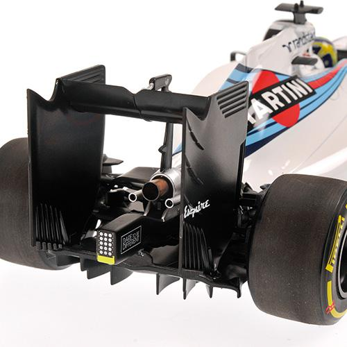 Williams Martini FW38 #19 Felipe Massa 2016 1:18 Minichamps 117160019 Mercedes Racing – Bild 4