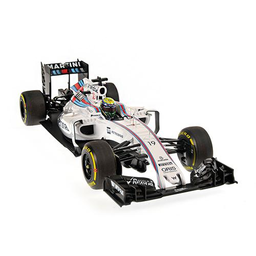 Williams Martini FW38 #19 Felipe Massa 2016 1:18 Minichamps 117160019 Mercedes Racing – image 6