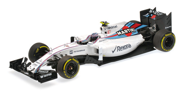Williams Martini FW38 #77 Valttieri Bottas 2016 1:18 Minichamps 117160077 Mercedes Racing – Bild 1