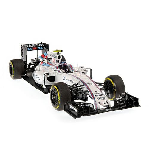 Williams Martini FW38 #77 Valttieri Bottas 2016 1:18 Minichamps 117160077 Mercedes Racing – Bild 2