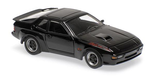 Porsche 924 GT 1981 Maxichamps 940066124 1:43 black schwarz – Bild 2