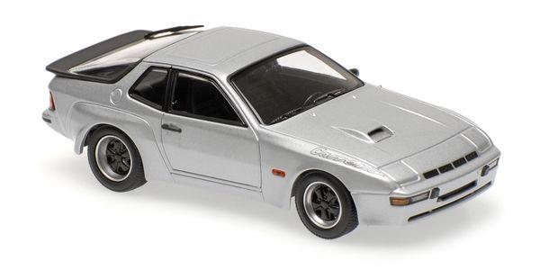 Porsche 924 GT 1981 Maxichamps 940066122 1:43 silver – image 2