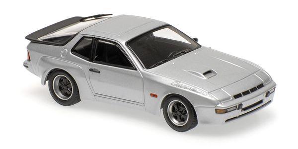 Porsche 924 GT 1981 Maxichamps 940066122 1:43 silver silber – Bild 1