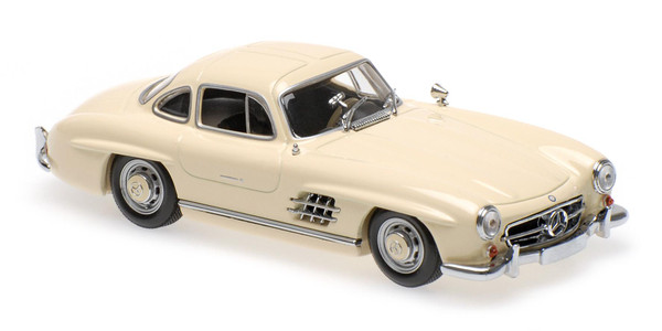 Mercedes 300 SL (W198 I) Maxichamps 940039002 1:43 1955 cream