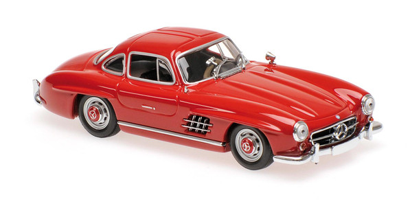Mercedes 300 SL (W198 I) Maxichamps 940039001 1:43 1955 dark red