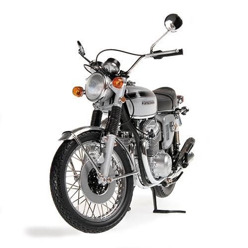Honda CB 750 1968 Minichamps 122161005 1:12 silver silber – Bild 2