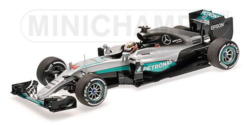 Mercedes AMG W07 #44 Minichamps 110160044 1:18 Petronas F1 Team W07 Hybrid Lewis Hamilton 2016 – Bild 1