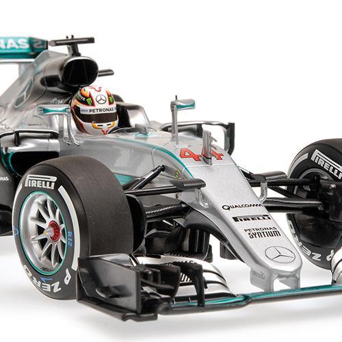 Mercedes AMG W07 #44 Minichamps 110160044 1:18 Petronas F1 Team W07 Hybrid Lewis Hamilton 2016 – image 4