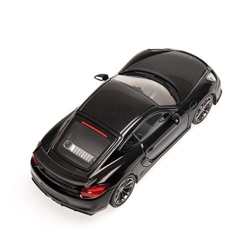 Porsche Cayman GT4  2016 Minichamps 410066121 1:43 black metallic schwarz L.E. 336 pcs. – Bild 2
