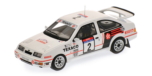 Ford Sierra RS Cosworth Tour de Course 1987 BLOMQVIST/GRUNDEL Minichamps 437878002 1:43 L.E. 200 pcs.  – image 1