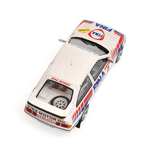 Ford Sierra RS Cosworth Winner Rally Ypres 1989 DROGMANNS/JOOSTEN Minichamps 437898006 1:43 L.E. 200 pcs.  – image 2