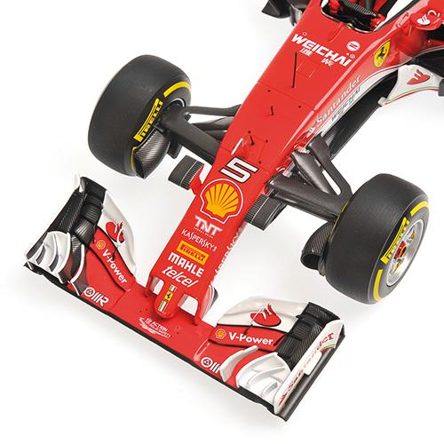 Ferrari SF16-H  1:18 #5 Vettel Australien GP 2016 BBR 181605 Scuderia Ferrari - No. #5 Sebastian Vettel – image 1