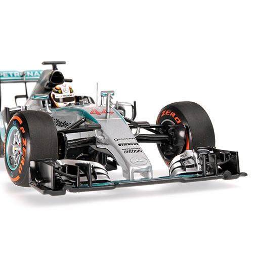 MERCEDES AMG PETRONAS F1 TEAM - F1 W06 HYBRID - LEWIS HAMILTON - WINNER JAPANESE GP 2015 L.E. 504 pcs. – Bild 2