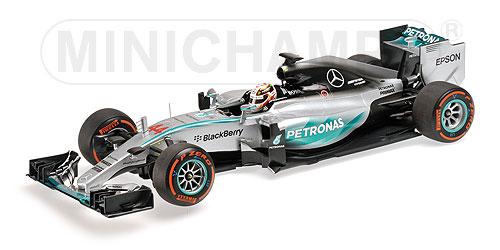 MERCEDES AMG PETRONAS F1 TEAM - F1 W06 HYBRID - LEWIS HAMILTON - WINNER JAPANESE GP 2015 L.E. 504 pcs.