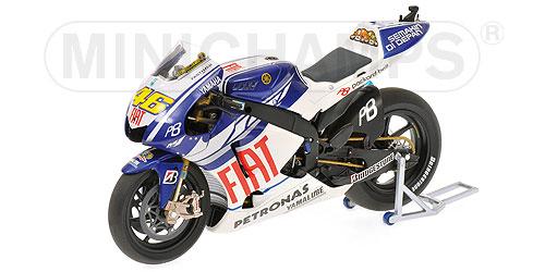 Yamaha YZR-M1 1:12 - VALENTINO ROSSI - MOTOGP 2010 Minichamps 122103046 – image 2