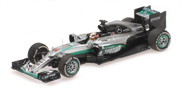 Mercedes AMG Petronas Hamilton China 2016 F1 Team - F1 W07 Hybrid - #44 Lewis Hamilton - Chinese 2016 - 1:43 Minichamps 417160244 – image 1