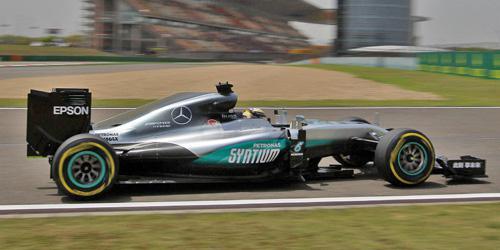 Mercedes AMG Petronas Hamilton China 2016 F1 Team - F1 W07 Hybrid - #44 Lewis Hamilton - Chinese 2016 - 1:43 Minichamps 417160244