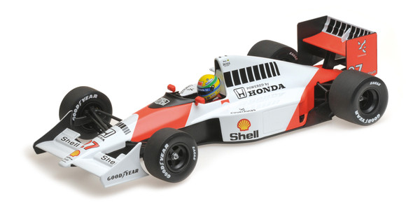 McLaren Honda MP4/5B - Ayrton Senna - World Champion 1990 - 1:18 Minichamps 540901827 – image 6