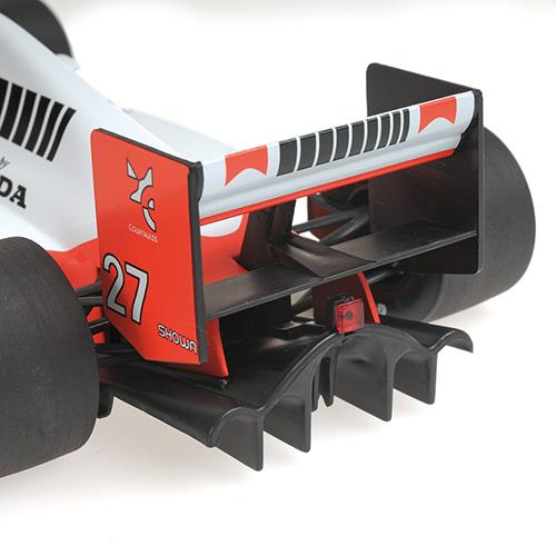McLaren Honda MP4/5B - Ayrton Senna - World Champion 1990 - 1:18 Minichamps 540901827 – Bild 4